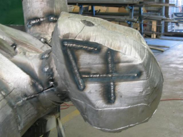 Aluminium cast head